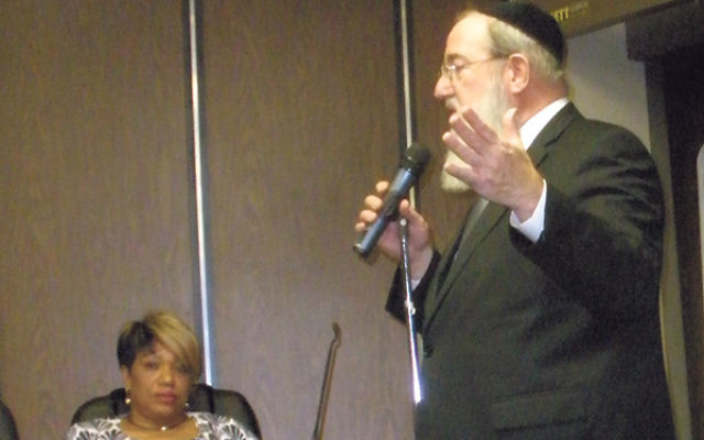Rabbi Reuven Drucker told the Highland Park Borough Council that implementing safety measures in the area where a six-year-old boy was killed is urgent.