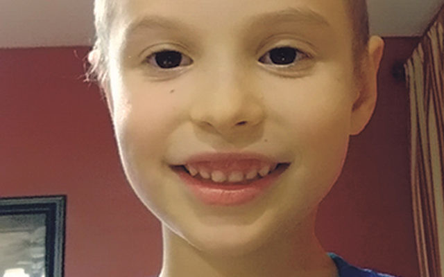 Seven-year-old Ari Goodman at home in East Windsor