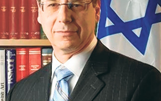 "Amb. Danny Ayalon says there is evidence of ""Palestinian propaganda turning Americans against Israel."""