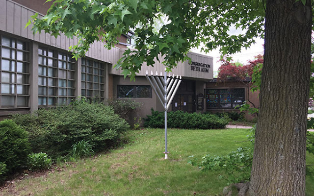Congregation Beth Ahm of West Essex in Verona held its last service on June 3. Photo by Johanna Ginsberg