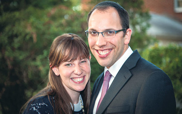 Rabbi Michael Bleicher and his wife, Yael, are the new rabbi and rebbetzin of the Elmora Hills Minyan in Union.