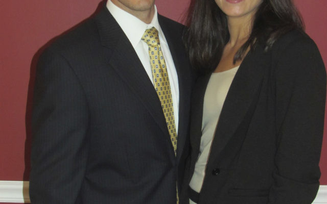 Michael Fried and Samantha Blume