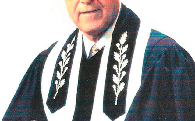 Cantor Henry Butensky