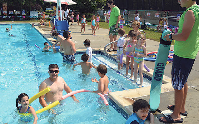 The outdoor pool at the JCC in Scotch Plains is getting an upgrade to enhance its features for preschool children and youngsters with special needs.