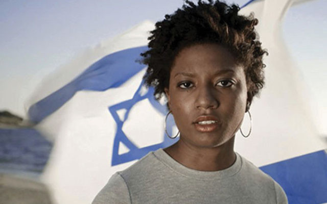 "Zionist Chloe Valdary said she believes, ""Israel gives expression to the human condition."""