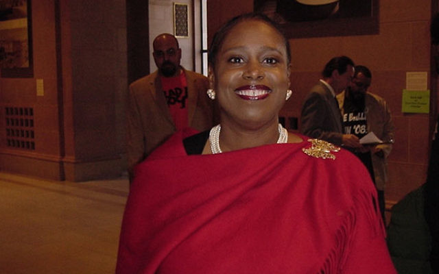 Cynthia McKinney, seen in a photo from 2008, was the Green Party's presidential candidate that year.(Wikimedia Commons)