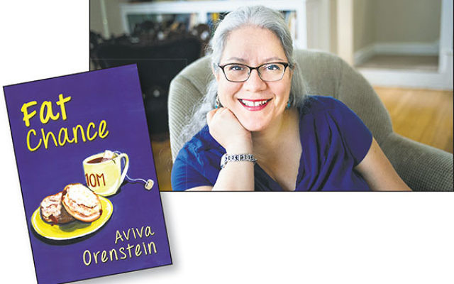 Author Aviva Orenstein acknowledged that her Fat Chance protagonist, Claire, is in many ways her alter ego.