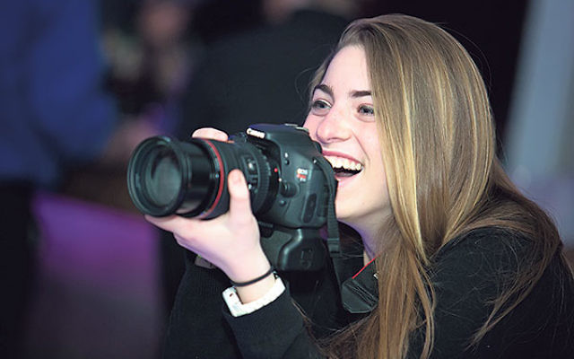 Peri is using her favorite tool, the camera, to have Jewish teens from around the world link up through her website, ConnectinaFlash.org.