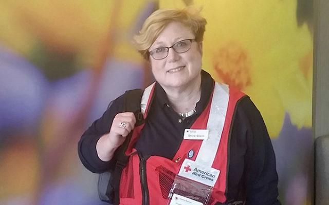 Rabbi Shira Stern of Marlboro is a disaster spiritual care provider for the American Red Cross. Courtesy JTA/Shira Stern