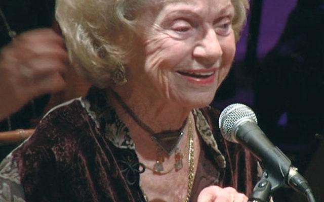 Flory Jagoda was honored for her contribution to world music with a concert at the Library of Congress in 2012, at the age of 90.
