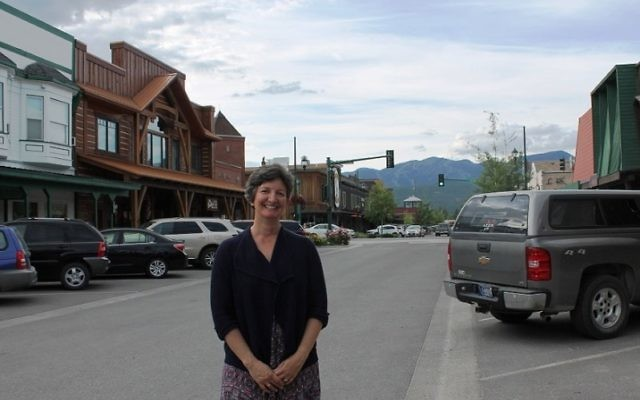 Rabbi Francine Green Roston and her family fell in love with Whitefish, Mont., on their first visit in the summer of 2010. (Uriel Heilman)