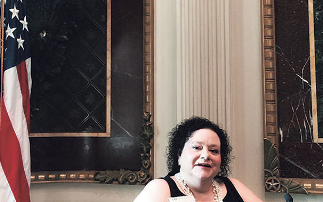 Wilf Campus for Senior Living CEO Susan Harris in the White House