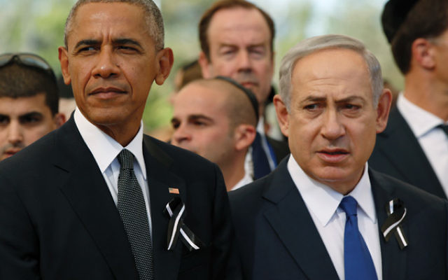 Rather than working together to patch things up, President Barack Obama and Israeli Prime Minister Benjamin Netanyahu'sprofessional relationship ended the same way it began: badly.