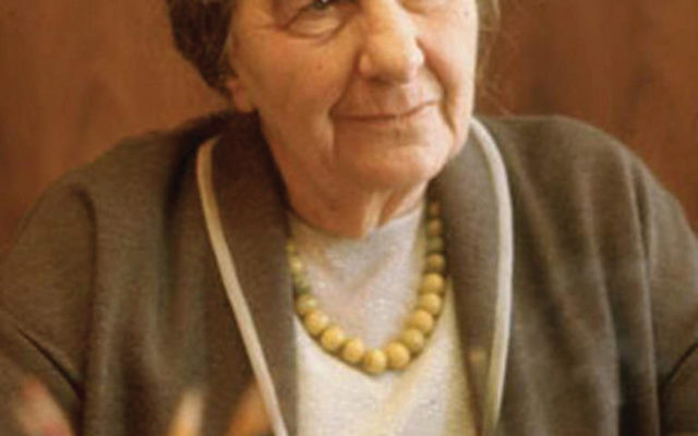 "Golda Meir defied gender stereotypes yet eschewed feminism, according to Pnina Lahav, author of the forthcoming book ""Golda Meir: Through the Gender Lens."" Photo via Flickr"