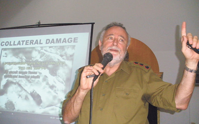 IDF Col. Bentzi Gruber said the Israeli military is the only fighting force in the world that warns its enemies before attacking to minimize civilian casualties.
