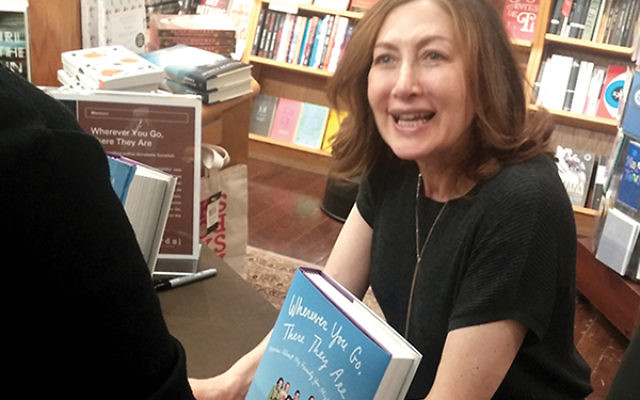 "Author, actor, comedian Annabelle Gurwitch was at [words] Bookstore in Maplewood to discuss her new memoir, ""Wherever You Are, They Are There."" Gurwitch signs copies of her fourth book, this one written about her Southern family of ""Jewi"