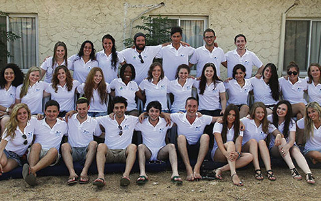 The 2012 Hallelujah Global Jewish Singing Contest competitors in Hakfar Hayarok, where contestants lived for three weeks while taking part in the contest in Israel.
