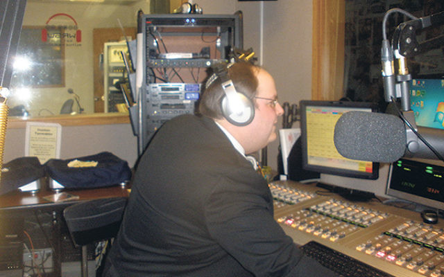 Host Josh Shron said he loves sharing his love for Israeli music and culture with his radio audience.