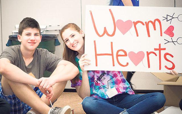 Jake Tessler and Macy Gimbel share their J-Serve message.