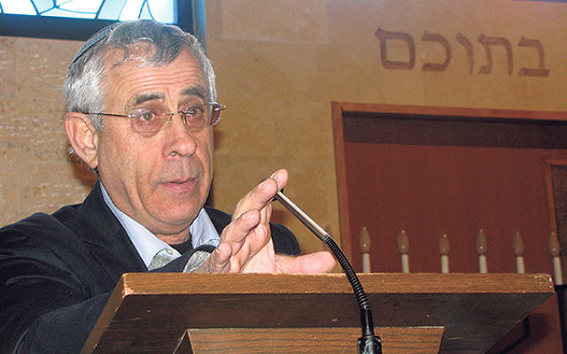 Dr. Mordechai Kedar will speak about his idea to have Arab city-states in Israel as an alternative to the two-state solution.