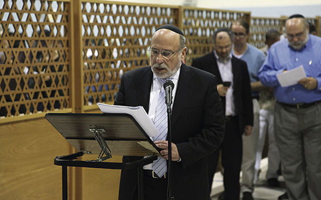 "RPRY principal Rabbi Shraga Gross said his students ""were pouring out their hearts,"" praying for the kidnapped boys ""to be brought home to their families and loved ones."""