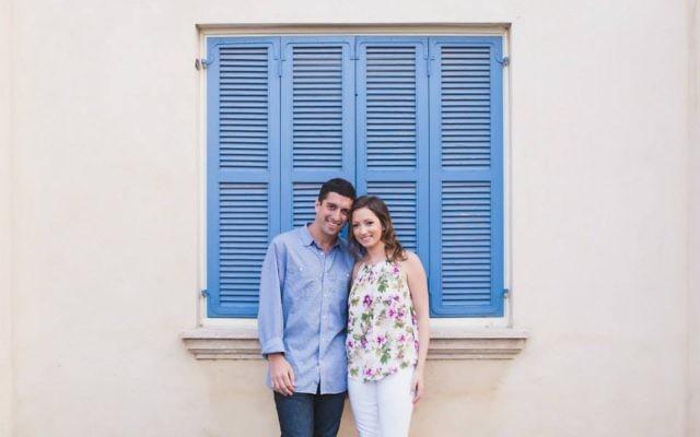 Eric Lesser and Casie Weitzer