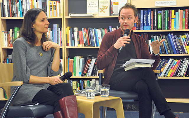Lital Levy and Benjamin Conisbee Baer at Labyrinth Books