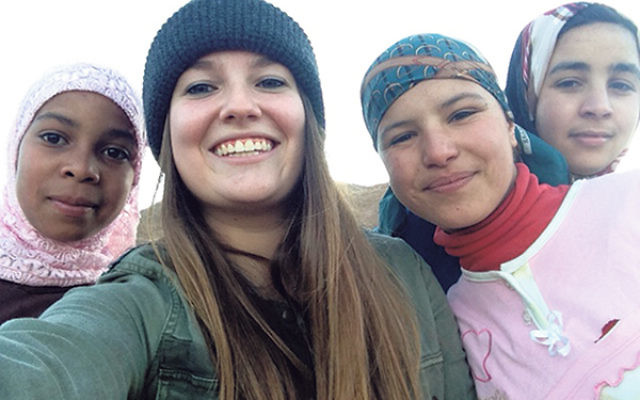 "Ariel Zuckerman, second from left, with three friends in Morocco, said, ""I am really excited to start this chapter of my life."""