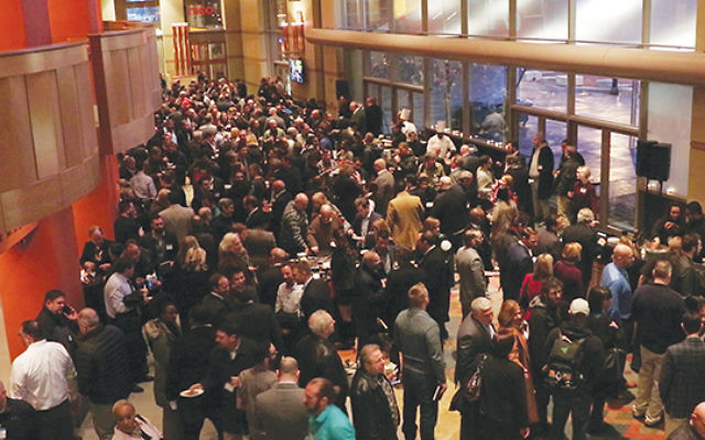 An estimated 800 people gathered at the New Jersey Performing Arts Center in Newark for the New Jersey Cannabis Symposium. Courtesy Asbury Park Press