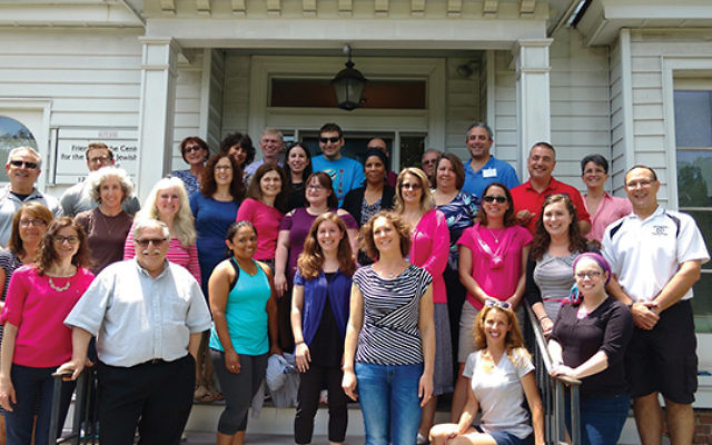 Teachers from throughout New Jersey came to Rutgers University's Bildner Center for the Study of Jewish Life to become master teachers of the Holocaust. Photos by Debra Rubin