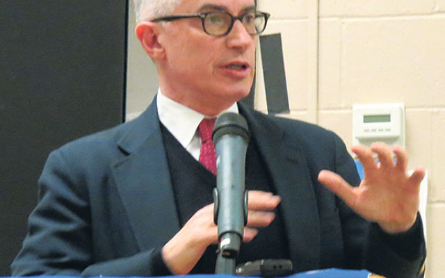 """Former NJ Gov. James McGreevey told an NCJW gathering in Livingston that nationwide, """"We are reaping the results of bad policy."""""""