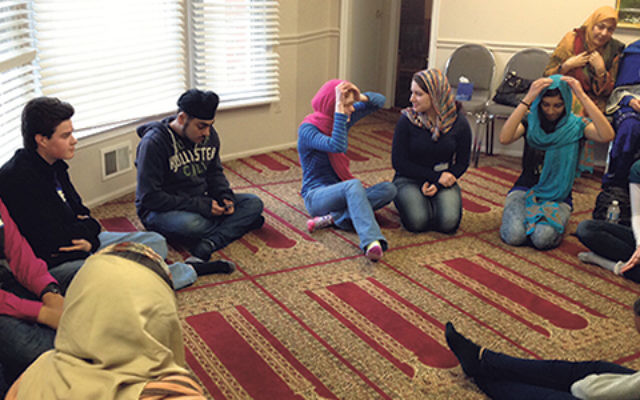 Teen members of MOSAIC learned about Islam in a Freehold mosque during the first year of the program.