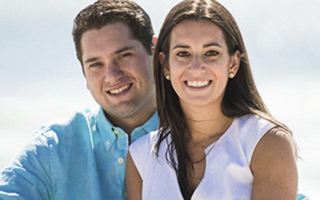 Corey Minerva and Rachel Newman