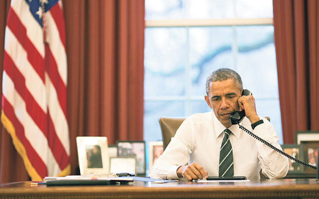 "Speaking on a conference call, President Obama said that one of his top priorities was to refocus ""attention on the non-proliferation of weapons of mass destruction, particularly nuclear weapons."""