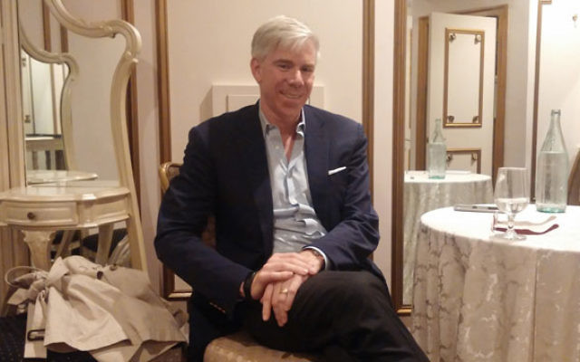 Broadcaster and political analyst David Gregory discussed politics and spiritual growth at the 2017 UJA Campaign's Major Gifts event on Sept. 28.