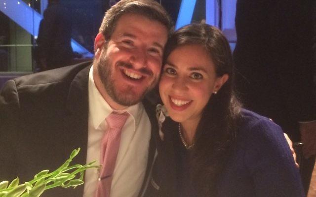 Danny Palestine and Ayelet Boussi