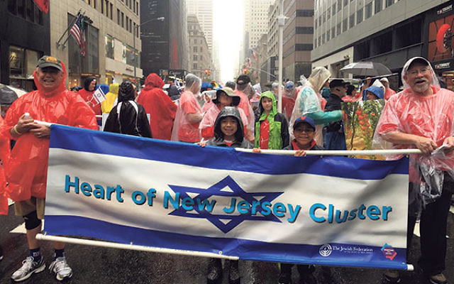 "Marchers from the ""Heart of NJ Cluster"""