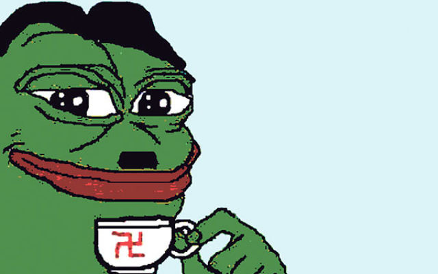 Pepe the Frog, an Internet meme, has become a symbol of the alt-right.