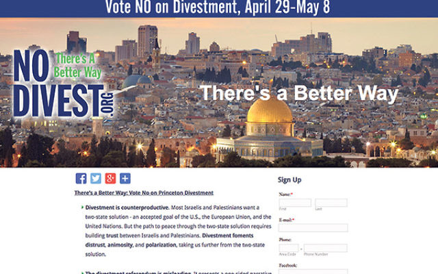 """Opponents said divestment is """"counterproductive"""" and called for """"a better way."""""""