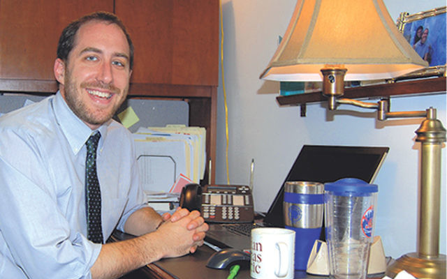 Rabbi Ethan Prosnit, recently appointed assistant rabbi at Temple Emanu-El, will be working with congregants to shape social justice projects.