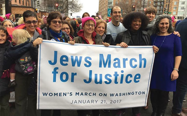 Members of the National Council of Jewish Women were one of the partner organizations for the Women's March on Washington.