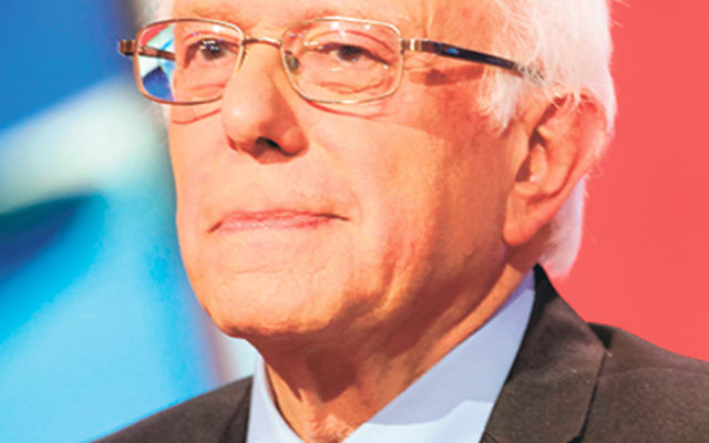 """To some Jewish New Jerseyans, Sen. Bernie Sanders """"embodies the Jewish concept of perfecting the world."""" To others """"his support for Israel has not been strong"""" and his social programs are unaffordable."""