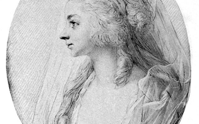 A portrait thought to be that of Sara Levy, who played and collected works by top German contemporaries.