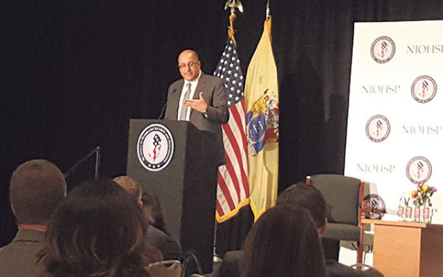 """Israeli Consul General Ido Aharoni told 600 law enforcement and counterterrorism officials in New Jersey that Israel is in the forefront of pioneering new weapons on the """"modern battlefield"""" of war in the digital age."""