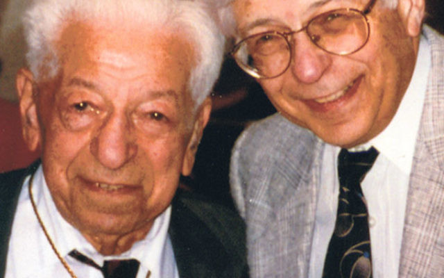 Jack Segal and his son, Mort, circa 1980