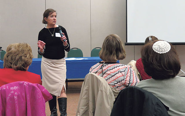 "Social worker Helen Hunter told Greater MetroWest CARES professionals that ""a lot of education and awareness needs to be out there"" to protect the elderly from abuse."
