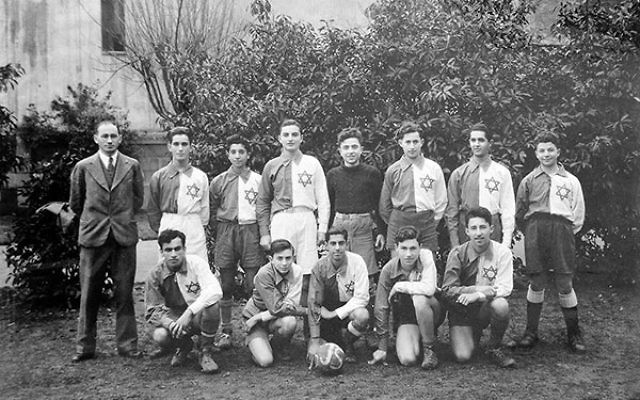 A Jewish sports team in the Shanghai ghetto