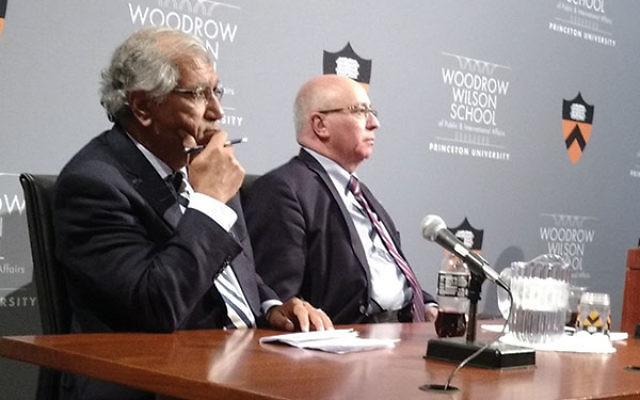 Both Khalil Shikaki, left, and Shai Feldman said they doubt that President-elect Donald Trump will immediately move the American embassy to Jerusalem.