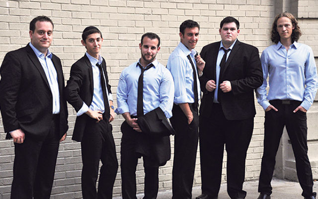 The a cappella group Six13 will perform at B'nai Shalom on Oct. 24.