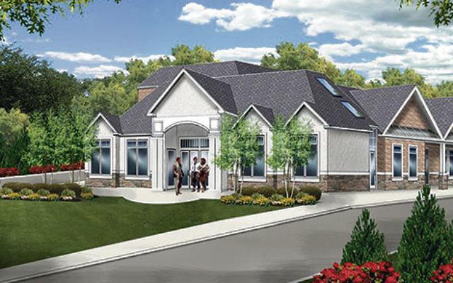 Plans for the new building at 316 and 320 White Oak Ridge Road.Image courtesy Rabbi Mendel Solomon
